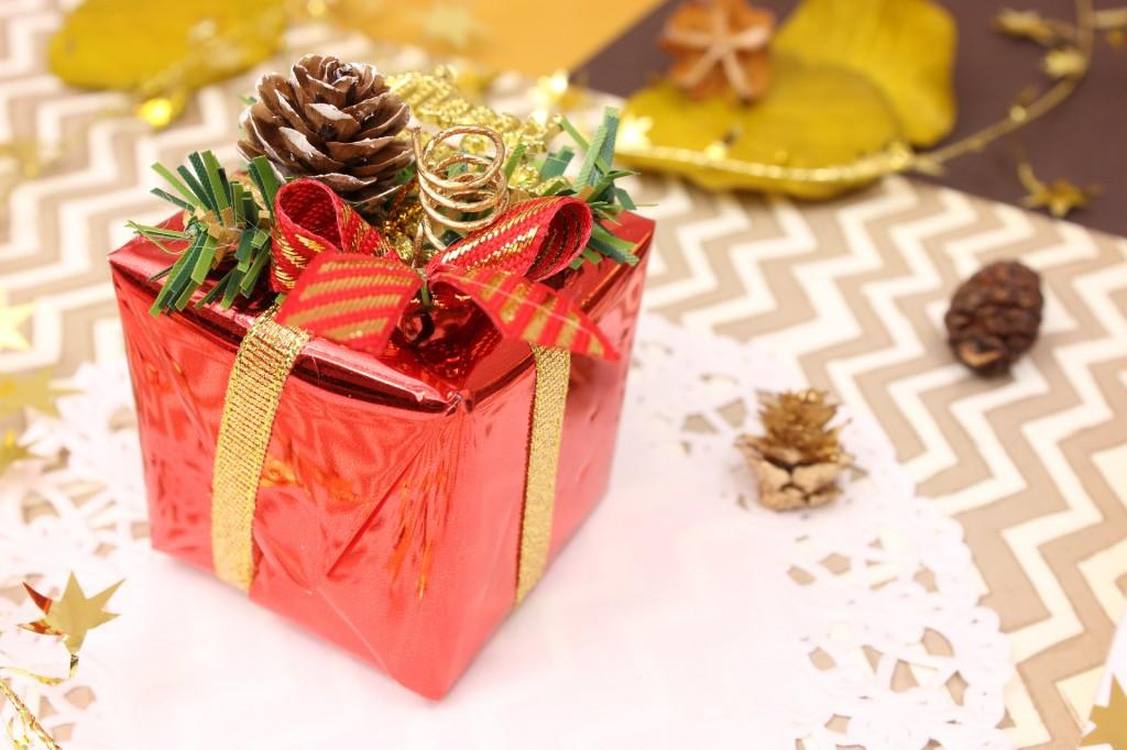 夫婦のクリスマスプレゼント